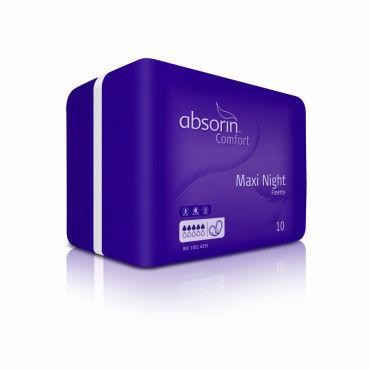 ABSORIN Comfort Finette Maxi Night (10 stuks)
