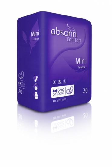 ABSORIN Comfort Finette Mini (doos 12 x 20 stuks)