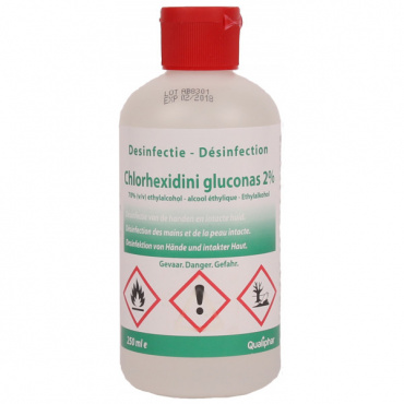 Chloorhexidine 2% (70% alcohol) 250ml