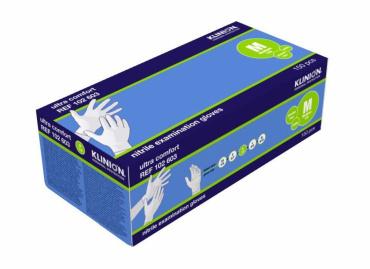 Klinion Comfort Nitrile MEDIUM (boîte 10 x 150 pièces)