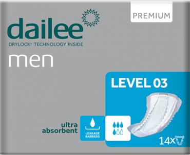 DAILEE Men Level 3 (doos 12 x 14 stuks)