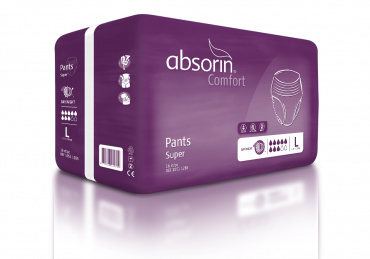 ABSORIN Comfort Pants Super LARGE (16 pièces)
