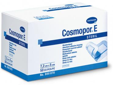 COSMOPOR E 7,2 x 5 cm latexfree (50 pièces)